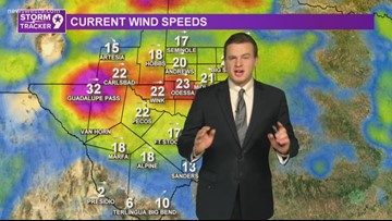 Winds die down tonight before cooler weather arrives Friday