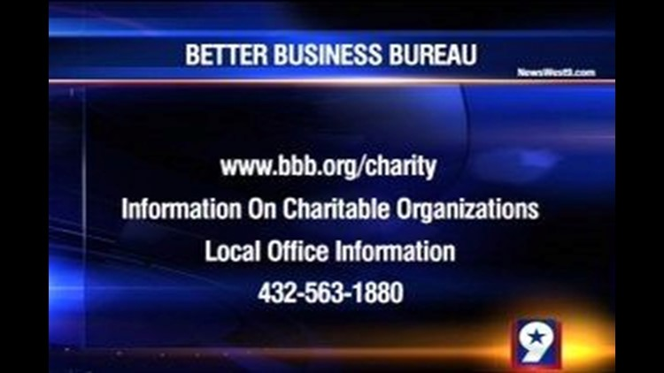 Better Business Bureau Warning Residents to Watch Out for Charity Scams