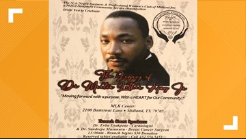 MLK Day celebration hosted by Black Business and Professional Women's Club of Midland