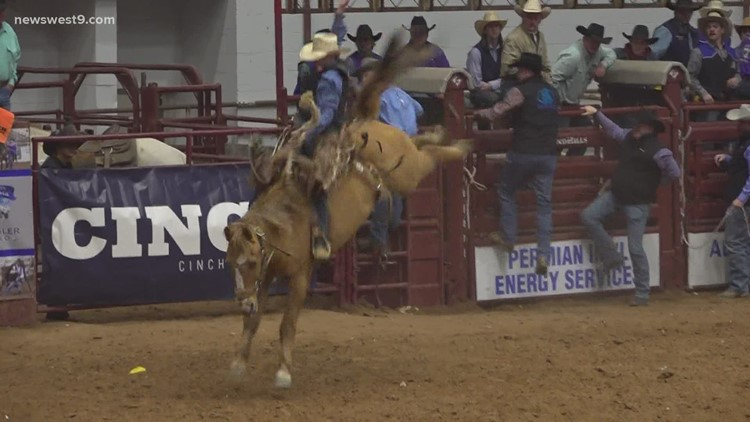 Odessa College Rodeo: Day 2