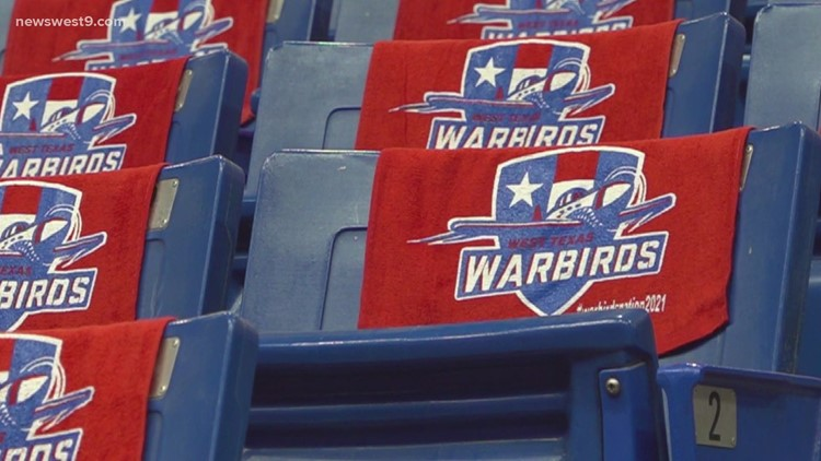 West Texas Warbirds to host backpack drive at all home games of 2021 season