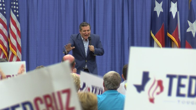 Ted Cruz continues campaign trail in the Permian Basin