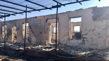 Wildfires destroy historic buildings in Big Bend