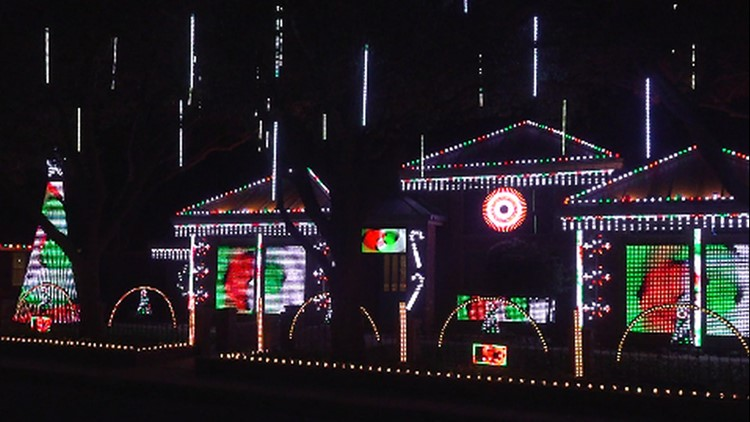 Beyond the Bow: Midland family lights up West Texas spirits with yard light show