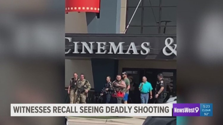 Witness recounts scary experience with Odessa shooter outside Cinergy
