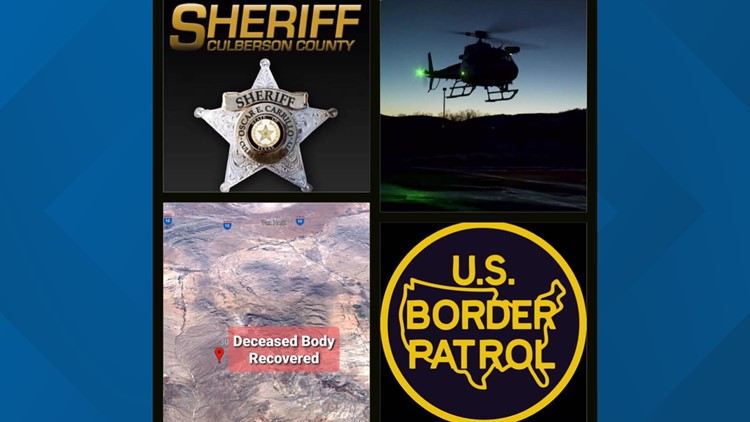 Culberson County Sheriff's Office investigating death of migrant southeast of Van Horn