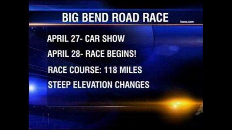 Big Bend Road Race Underway in Fort Stockton