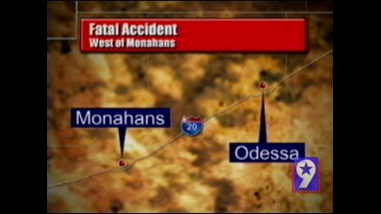 Fort Worth Boy Killed in Accident West of Monahans