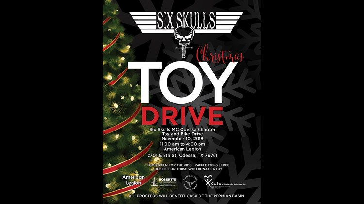 Odessa motorcycle club hosts toy, bike drive to benefit CASA