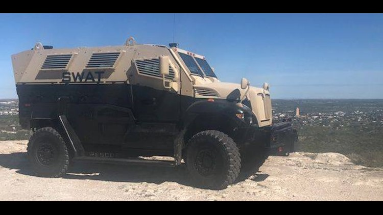 Big Spring PD acquires Armored Emergency Response Vehicle