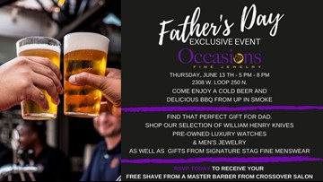 Enjoy beer and BBQ at this Father's Day event