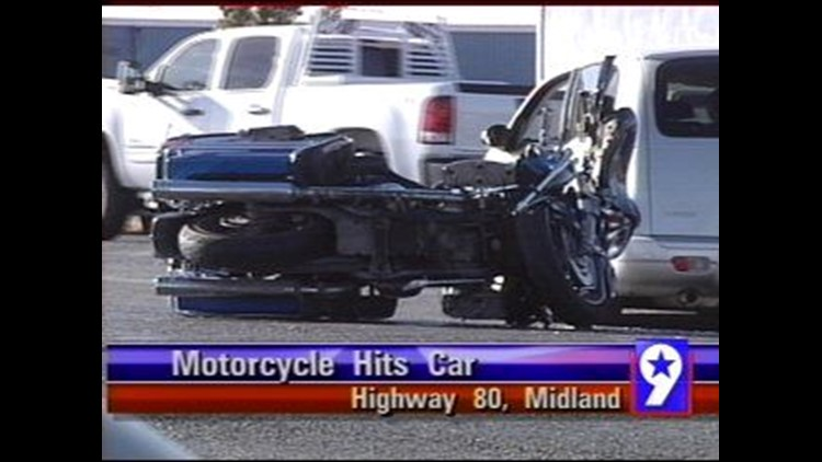 Motorcycle Accident in Midland County Sends One to the