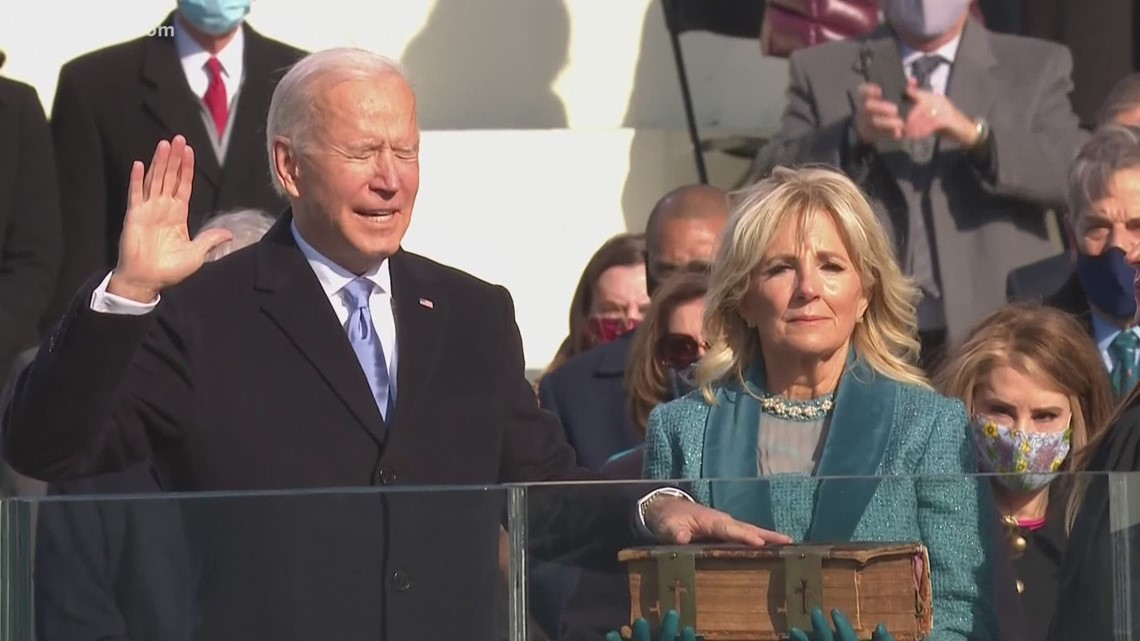 Local calls for unity after President Biden's inauguration