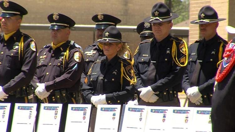 Midland Police Host Memorial Service