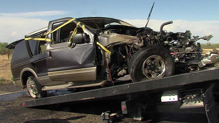 Three Vehicle Accident Near Kermit Leaves Behind a Big Mess