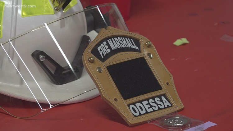 Ceremony held to recognize Odessa firefighters
