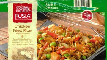 Chicken fried rice products recalled for undeclared milk