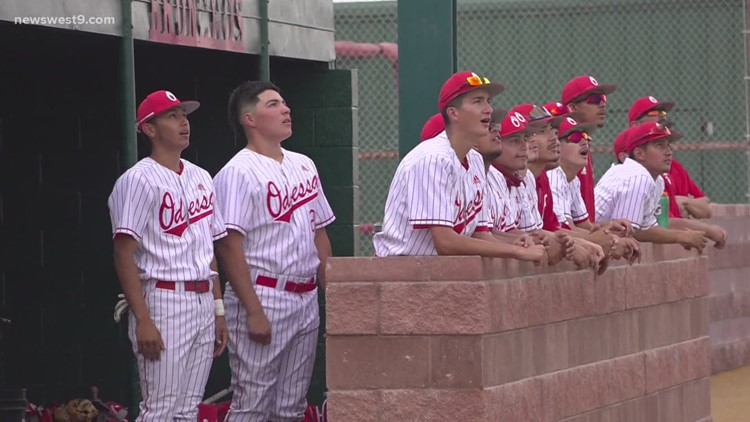 Odessa High baseball vs San Angelo Central