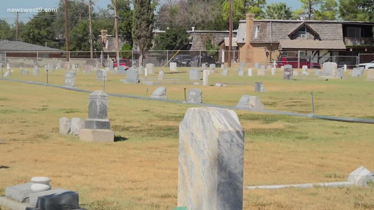 Friends of Fairview group wants better for Midland county's oldest cemetery