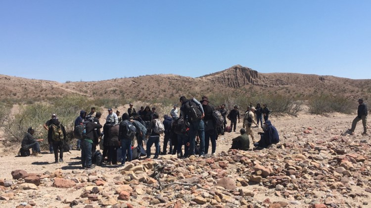 CBP agents bust large human smuggling attempts near Valentine, Van Horn