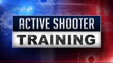 Alpine High houses Active Shooter training