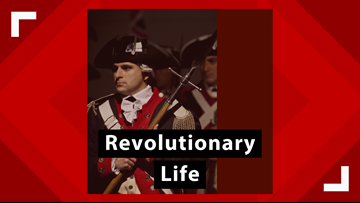 The history of Revolutionary life comes to the Midland County Centennial Library