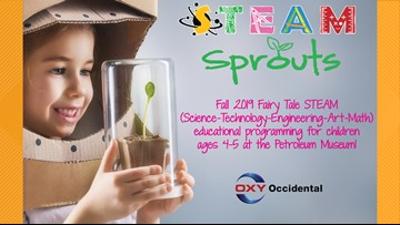 Petroleum Museum teaches pre-schoolers about Fairy Tale STEAM