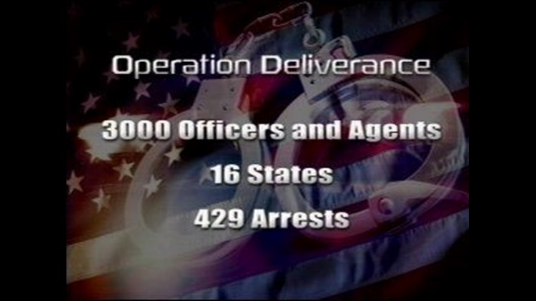 Operation Deliverance Delivers Arrests In the Basin and the Nation