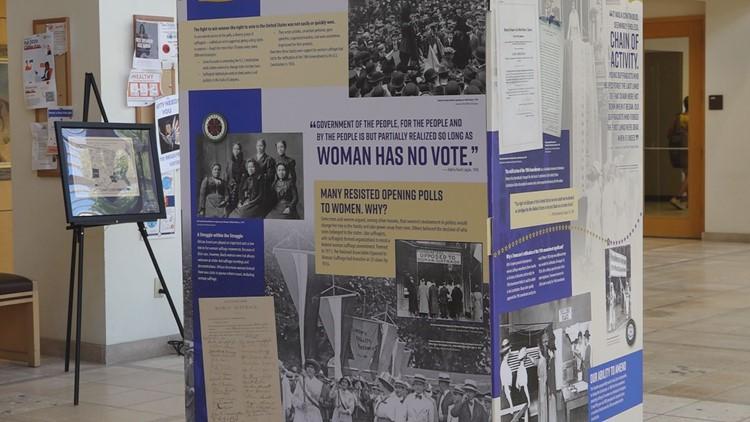 UTPB art and history departments create women's suffrage pop-up exhibit