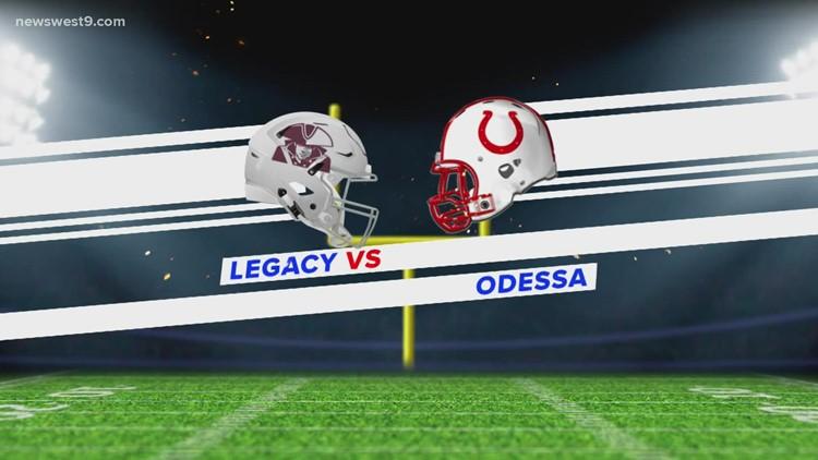 Week 8 | Odessa High vs. Midland Legacy