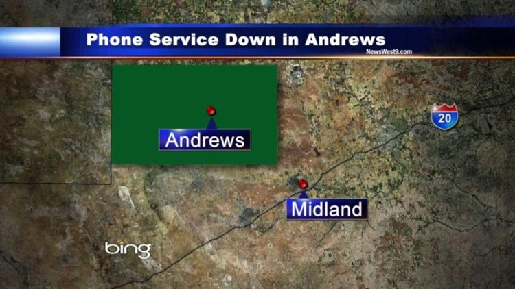 Phone Service Slowly Returning to Normal in Andrews, Seminole