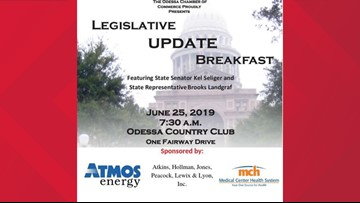Local representatives meet with constituents at Odessa Country Club