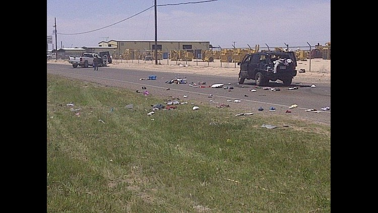 Four Transported to Hospital After Accident in West Odessa