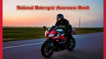 Tips for National Motorcycle Awareness Month