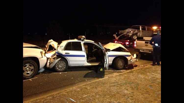 Midland Police Officer Injured in Three Car Accident | newswest9 com