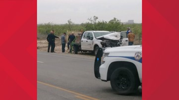 Car accident backs up 1788 in Midland