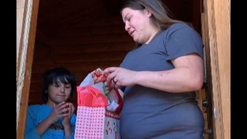 Ector County ISD police department spreads Christmas cheer