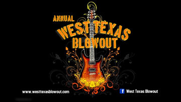 West Texas Blowout taking place this weekend in Midland