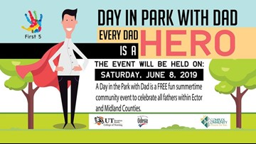 'Day in the Park with Dad' celebrates fathers in Midland-Odessa