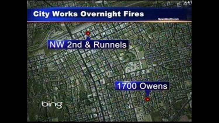 Two Fires Reported Overnight in Big Spring