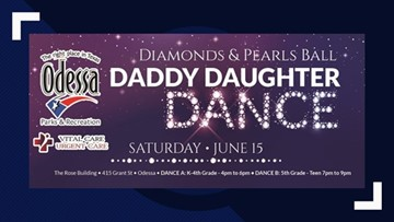 Dads, you still have time to get tickets for this weekend's Daddy Daughter Dance