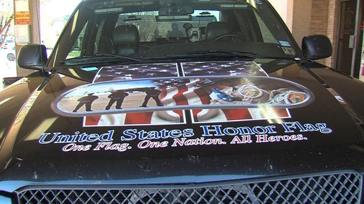"""""""Honor Flag"""" Makes a Stop in Midland"""