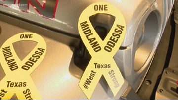 Car dealerships accepting donations, giving away magnets in support of shooting victims