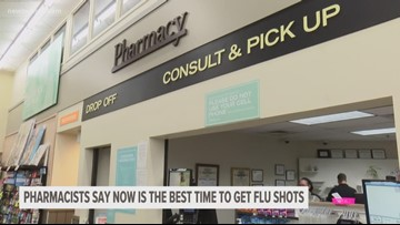 Pharmacists say the best time to get your flu shot is now
