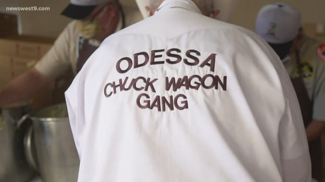 Odessa Chuck Wagon Feed Employees from MCH and ORH