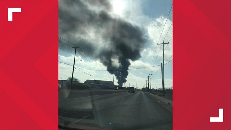 Midland Texas News >> Aerial Footage Hot Oiler Explosion