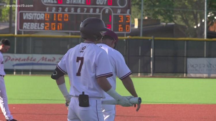 Lee Baseball vs Eaton