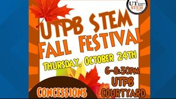 UTPB STEM Academy holding Fall Festival