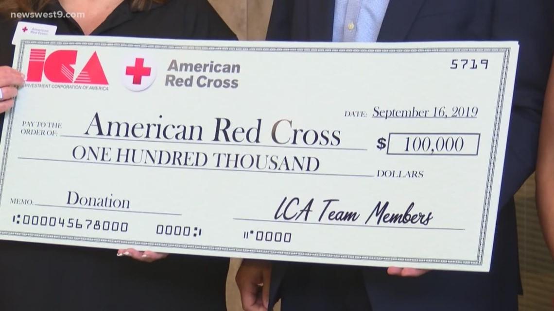 ICA donates $100,000 to Bahamas relief efforts | newswest9.com
