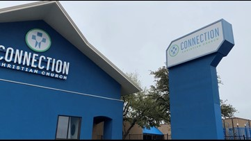 Connection Christian Church takes its service to the parking lot